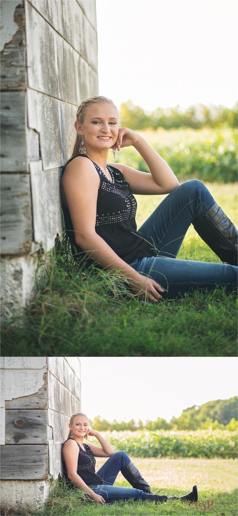 Southern Maryland senior Megan 2016_0427